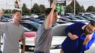 Mahk gets a job at Mark Wahlberg Chevrolet