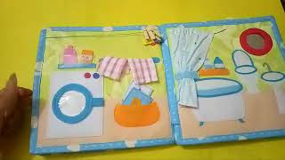Quiet book for kid/Book for girls 3/Skill practice book /felt book/ busy book
