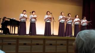 「国立駿河療養所 落語寄席」での仏教讃歌女性コーラス「マーヤの会」