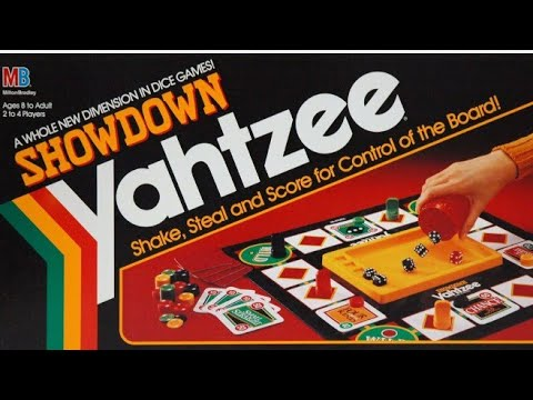 Ep. 127: Showdown Yahtzee Board Game Review (Milton Bradley 1991)