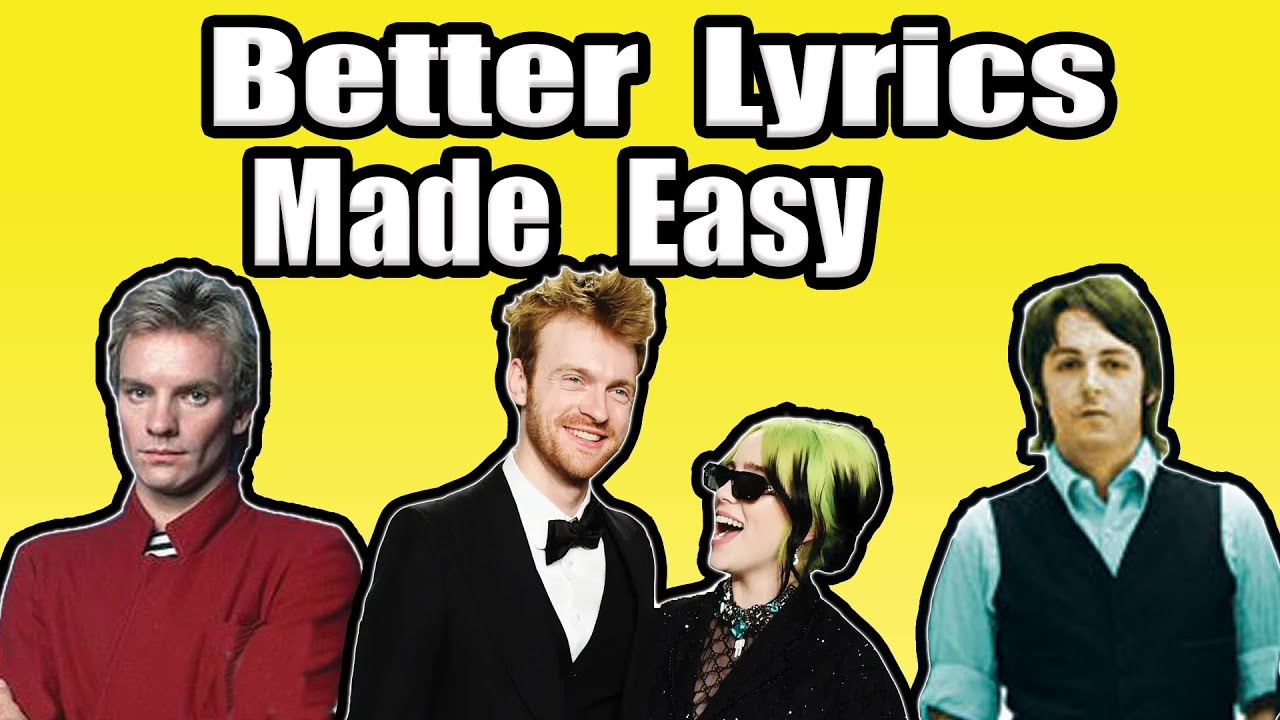 7 tips to write better lyrics for beginners (from the pros)