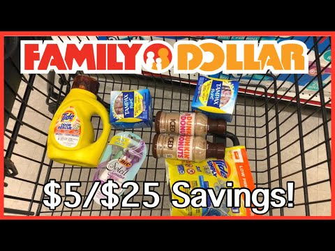 Family Dollar | $5/$25 Savings | BREAKDOWNS Included! | I Found Clearance | Meek's Coupon Life