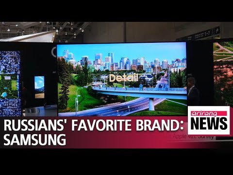 Samsung Electronics named favorite brand in Russia: Survey