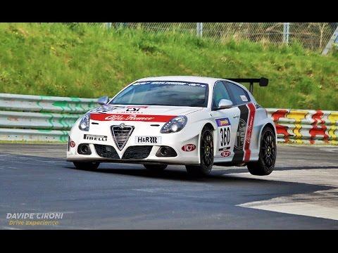 Ritorno Alfa alle corse: Tutto sulla Giulietta al VLN - Davide Cironi Drive Experience (ENG.SUBS)