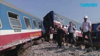 Tai nạn đường sắt thảm khốc: Thi thể nhân viên tàu SE2 kẹt cả đêm trong toa xe