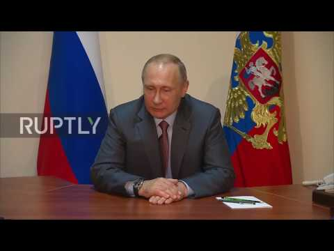 Russia: 'Help and support each other' - Putin to Crimea and Sevastopol heads