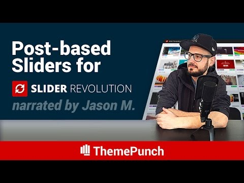 A Post-based Slider Revolution