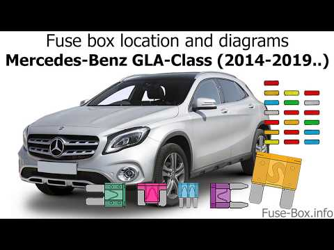 fuse box location and diagrams: mercedes-benz gla-class (2014-2019  ) -  youtube