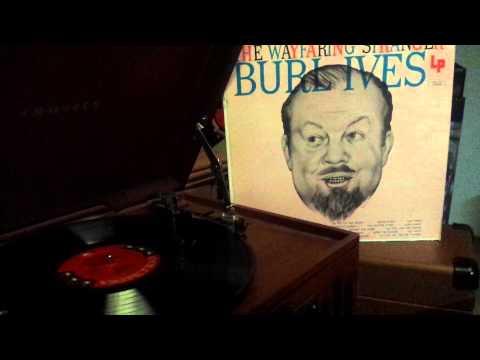 Burl Ives – John Hardy vinyl record 33 rpm