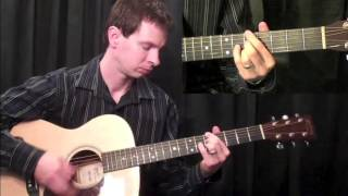 How To Play Guitar - Blues Guitar Lesson - Bird Blues