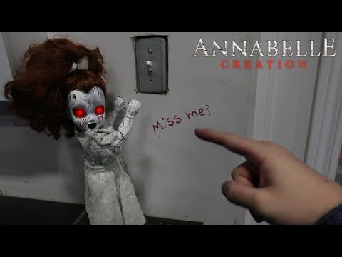 HAUNTED ANNABELLE DOLL IN REAL LIFE!! (SCARY)