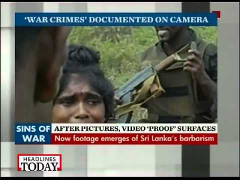 After pictures, video of Sri Lanka's war crimes surfaces