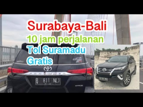 Road Trip Tol Trans Jawa    Fortuner Vrz    Jakarta Surabaya Bali    Part 2