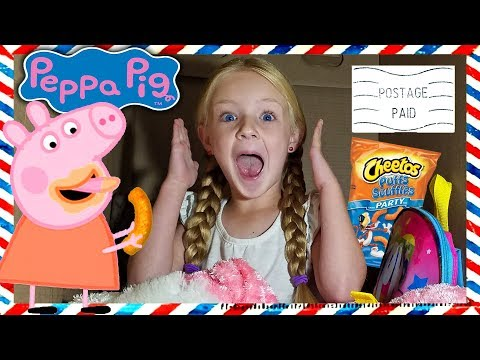 I Mailed Myself in a Box to Peppa Pig! *OMG* It Worked!! Human Mail Challenge (Skit)