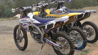 YAMAHA YZ250F YZ250FX & WR250F REVIEW by Ben Crowley