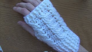 Cabled Crochet Wristlets/Gloves