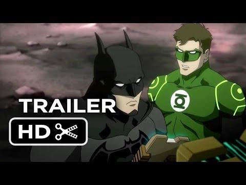 Justice League: War DVD Release TRAILER (2013) - Superhero Animated Movie HD