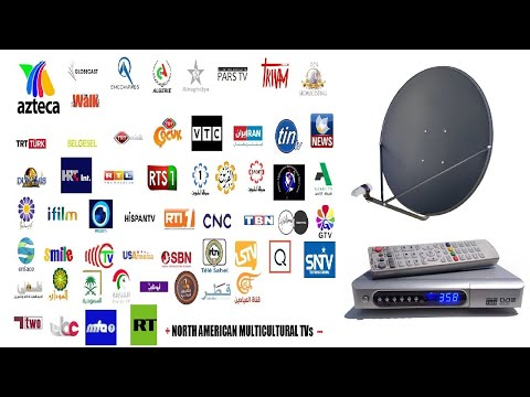Free satellite FTA Channels in North America
