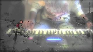 Hero flute theme & lambi judai on keyboard