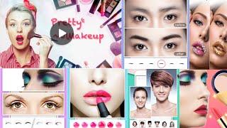 Pretty Makeup - Beauty Photo Editor Selfie Camera | Blue Eye Makeup - Easy Eye makeup screenshot 1