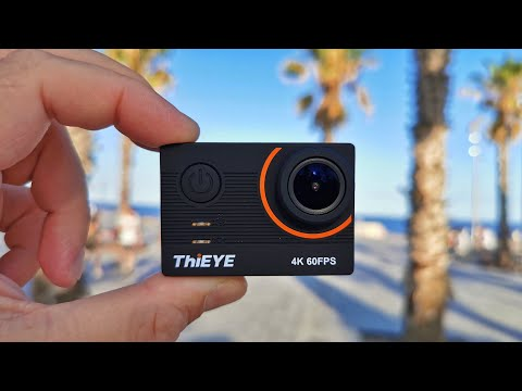 ThiEYE T5 Pro 4K60FPS Action Camera Review - Better Than GoPro?