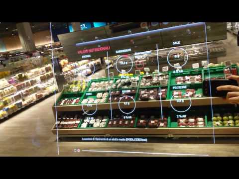 COOP - the supermarket of the future in Milano