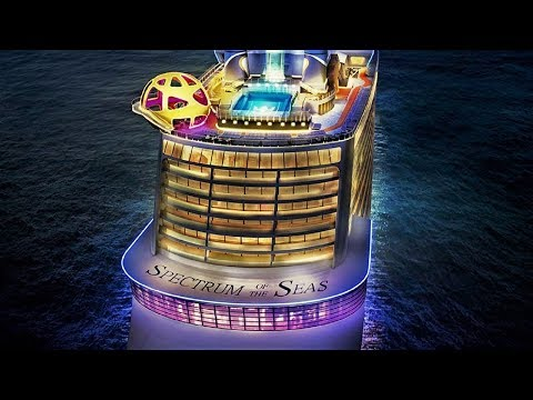 Spectrum of the Seas 2019 cruise ship tour HD