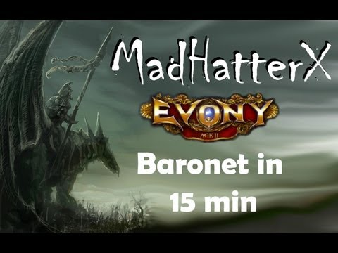 Baronet In 15 Min HD Evony Guide