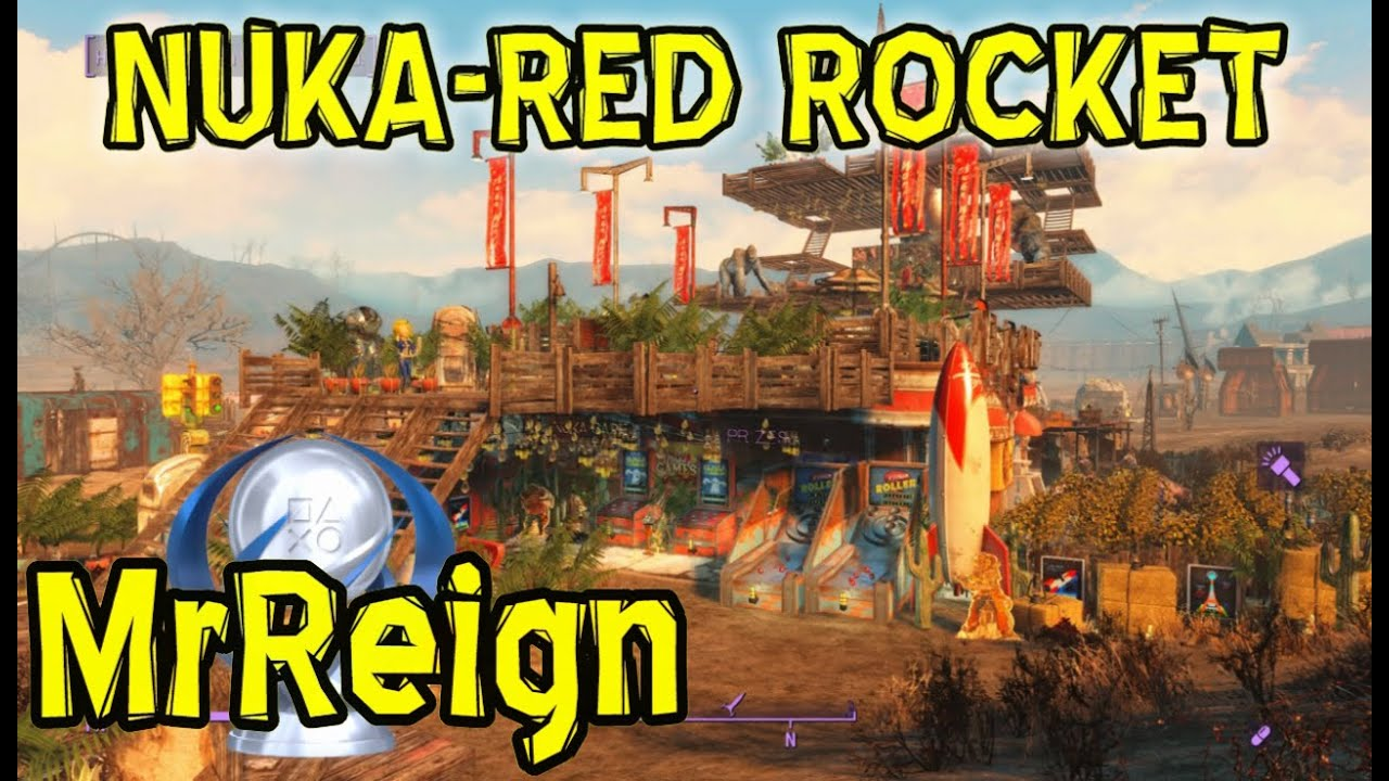 Fallout 4 Nuka World Dlc All 41 Locations Nuka Red Rocket