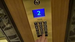 Otis Dispatch Scenic Elevators Westin St. Francis Hotel San Francisco, CA