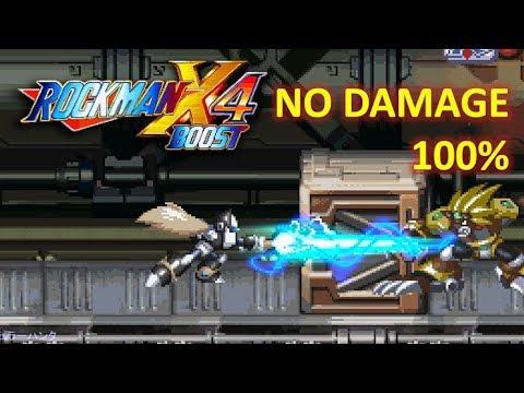 ~KAIZO~ Mega Man X4 - Black Zero (No Damage) 100% Collected