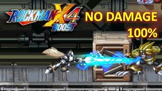 ~KAIZO~ Mega Man X4 - Black Zero (No Damage) 100% Collected