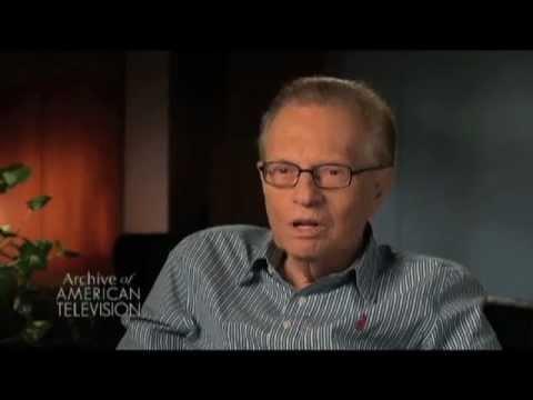 Larry King on the Clinton / Lewinsky scandal - EMMYTVLEGENDS.ORG