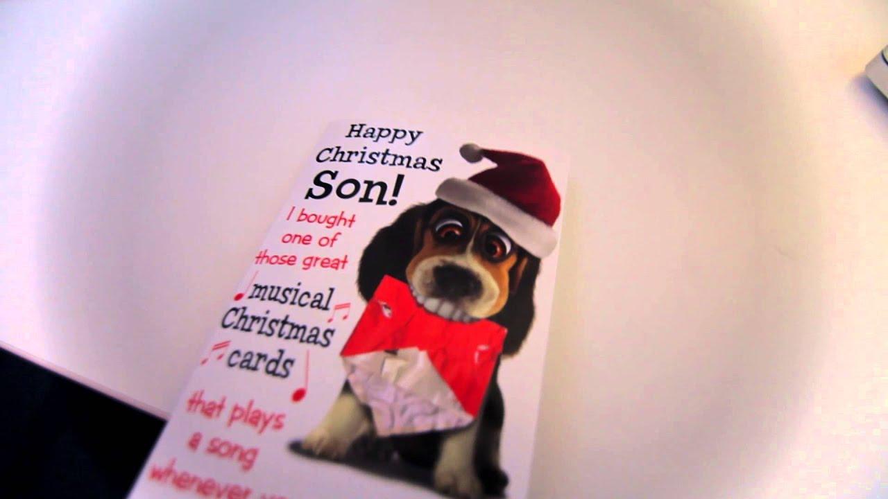 Late Christmas Card Youtube
