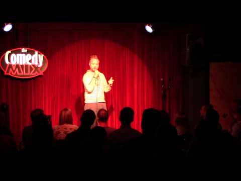 Jesse Daniel at the Comedy Mix Vancouver July 2015