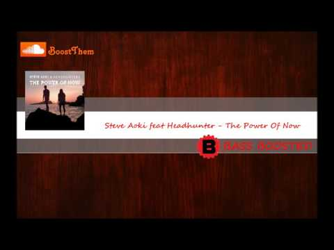 Steve Aoki feat Headhunterz - The Power Of Now [BASS BOOSTED]