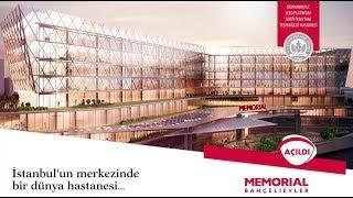 İstanbul'un merkezinde bir dünya hastanesi Memorial Bahçelievler açıldı!