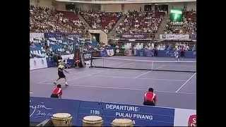 Bjorn Borg vs McEnroe - Kuala Lumpur