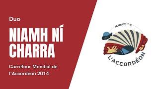 Duo Niamh Ni Charra au Carrefour Mondial de l'accordéon 2014
