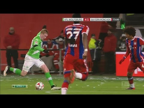 Kevin De Bruyne vs Bayern Munich Home 14/15 HD 720p