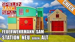 Feuerwehrmann Sam Unboxing 🏩 Feuerwehr Station ALT und NEU 🏫 im Test | Check deutsch | Simba 2018