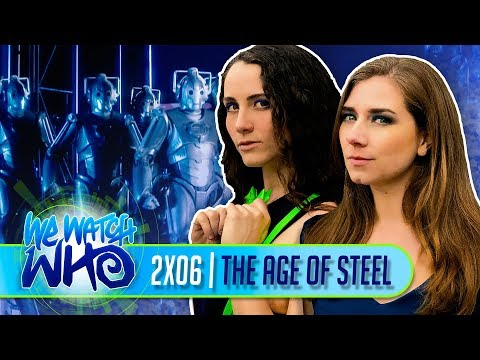 Doctor Who   2x06   The Age Of Steel   We Watch Who