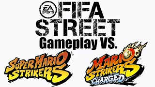 FIFA Street vs. the Mario Strikers series - Gameplay Comparison
