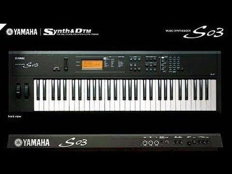 Download Timbres editados Yamaha S03 2021