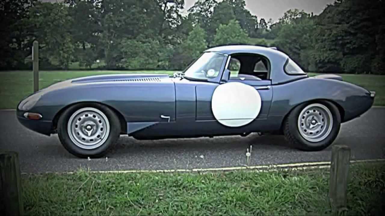 1963 jaguar e-type semi lightweight - youtube