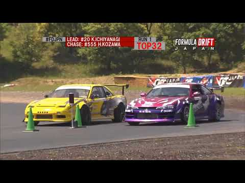 Formula DRIFT Japan Rd1 TOP 32 Livestream replay
