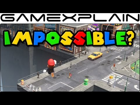 """Super Mario Odyssey - Is the """"Impossible"""" Jump Possible in New Donk City?"""