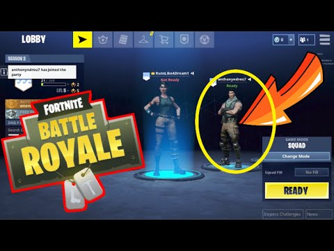 HOW TO ADD FRIENDS ON FORTNITE MOBILE APP!