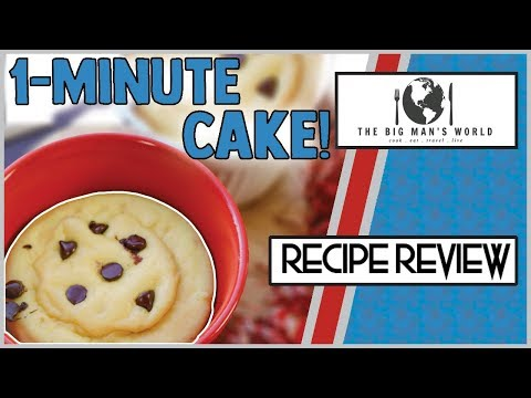 chocolate-chip-muffin-mug-cake-|-dessert-recipe-review-|-recipe-by-the-big-man's-world