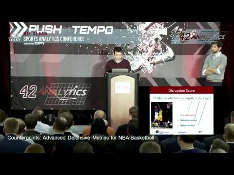 SSAC15: Counterpoints: Advanced Defensive Metrics for NBA Basketball